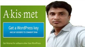 Install WordPress Akismet free API Key I best plugins 2018 I protect your blog from spam